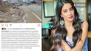 Janhvi Kapoor slams a Pakistani publication- Pulwama Attac..