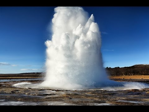 Top 5 Wonderful Geysers. Beautiful! HD