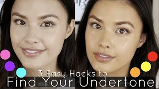 How to Find Your Undertone vs Skintone | What it is + Easy Hacks!
