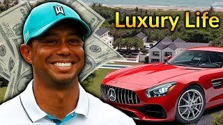 Tiger Woods  Luxury Lifestyle | Bio, Family, Net worth, Earning, House, Jet, Yacht, Cars