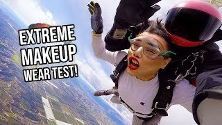 EXTREME MAKEUP WEAR TEST: SkyDiving