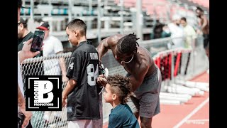 Antonio Brown Off Season Training (Day In Life)