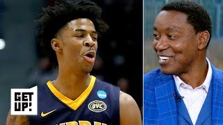 'I wish I could jump like that!' - Isiah Thomas on Ja Morant comparisons | Get Up!