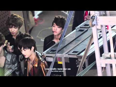 [Fancam] 120602 Poor Baekhyunㅋㅋ : EXO-K Genie AR Show