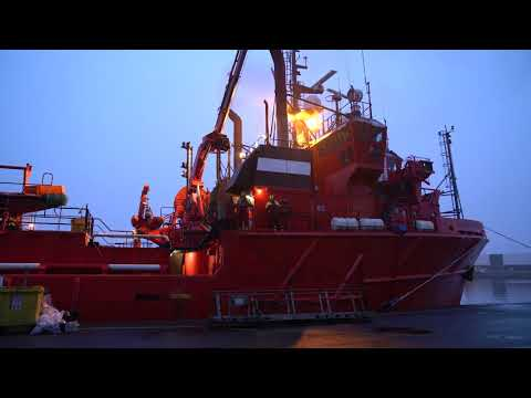 'Esvagt Gamma' and 'Esvagt Promotor' on final voyage to Fornæs Ship Recycling