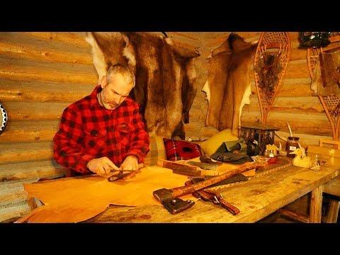 Log Cabin Life in a Polar Vortex January 2019