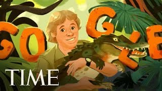 Steve Irwin Would Have Been 57 On Friday, Google Is Honoring Him With A Doodle | TIME