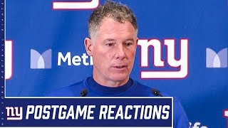 "Coach Pat Shurmur: ""We just have to do a better job all the way around"" 