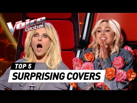 The Voice | SUPRISING COVERS in The Blind Auditions [PART 3]