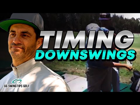 Perfecting Timing : Downswing Golf Tips