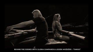 "Gloria Campaner & Leszek Możdżer / Behind the scenes - ""Tango"" (A. Piazzolla ""Libertango"")"
