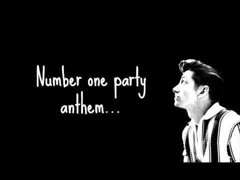 Arctic Monkeys - No 1 Party Anthem Lyric Video