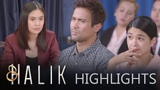 Jade and Ace silently mock Jacky while she is on the witness stand   Halik