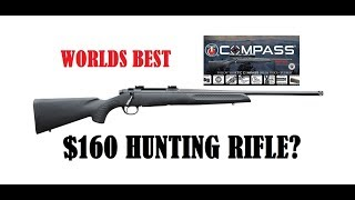 Thompson Center Compass Worlds Best Budget Hunting Rifle? High Powered 270 308 22/250 30-6 Review