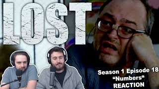"Lost Season 1 Episode 18 REACTION ""Numbers"" (1/2)"