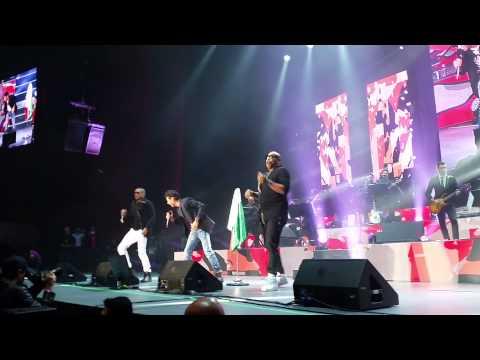 Gente de Zona y Marc Anthony formaron La Gozadera en México (25 de Agosto 2015)