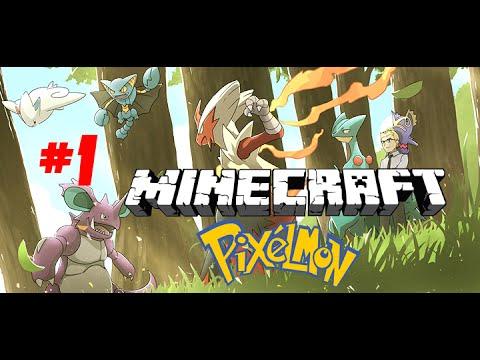 C ng ch i minecraft pixelmon t p 1 charmander xu t tr n - Pixelmon ep 1 charmander ...
