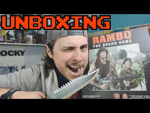 RAMBO: El juego de mesa || UBOXING E IMPRESIONES