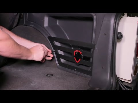 JCR Cubby Mate for Jeep Cherokee XJ Install