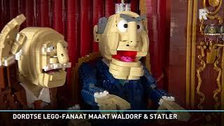 Dordtse lego-fanaat werkte vijf maanden aan Waldorf & Statler uit The Muppet Show