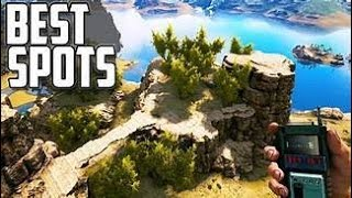 *NEW BEST BASE LOCATIONS!! Ark RAGNAROK *DESERT CAVE (31 1