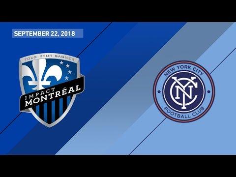 Montreal Impact vs New York City