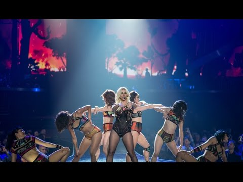 Britney Spears - Piece Of Me Live: Toxic, Stronger, Crazy, TTWE (Vegas 2014)
