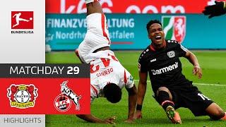 Bayer 04 Leverkusen - 1. FC Köln | 3-0 | Highlights | Matchday 29 – Bundesliga 2020/21