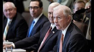 US attorney general, Jeff Sessions, is testifying before the Senate – watch live