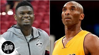 Zion Williamson says he wants to be a one-team player like Kobe Bryant   The Jump