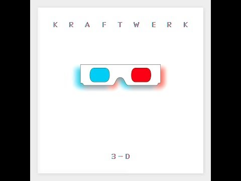 Kraftwerk '3-D The Catalogue