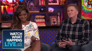 The Shade Is Real Between Michael Rapaport And Kenya Moore | RHOA | WWHL