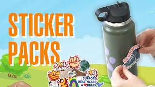 Nifty Gifty Sticker Bundles - Explore The World