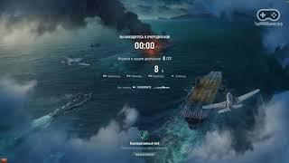 Геймплей игры World of Warships (FullHD, Ultra Graphics)