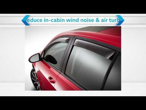 Volkswagen Accessories - Side Window Deflectors