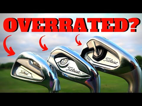 HONEST REVIEW:  TITLIEST T-SERIES IRONS (T100, T200, T300)