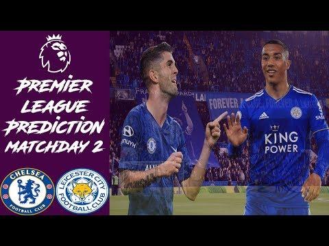 Premier League ~ Chelsea vs Leicester City Prediction