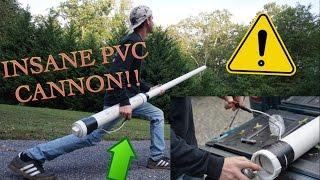 INSANE PVC PIPE CANNON! - EASY TO MAKE