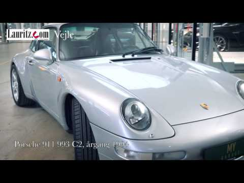 Eksklusive Porscher hos Lauritz.com Vejle