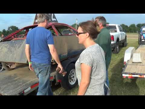 Fowlerville Family Fair 2018 Bump'n' Run & Demolition Derby Prelude  (July 24,2018)