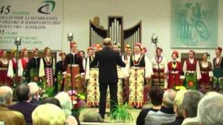 Academic Folk Choir - Bulgaria - Rano ranila Dragana by Gencho Genchev
