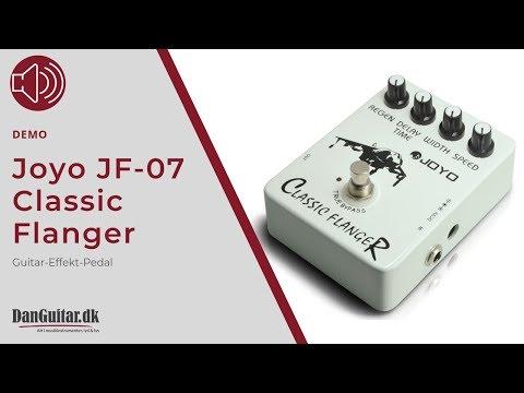 Joyo JF-07 Classic Flanger Guitar-Effekt-Pedal fra DanGuitar.dk