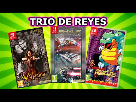 WALLACHIA, AGGELOS Y SHMUP COLLECTION SWITCH