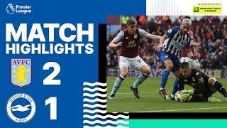 Aston Villa 2 Brighton & Hove Albion 1