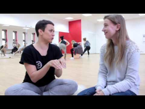 Кристина Шишкарева о работе над клипом группы Алиби «Оригами»