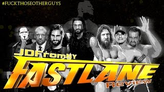WWE Fast Lane 2015 2/22/15 Review & Results | Wrestlemania 31 Set, Sting/Triple H, Bryan vs Reigns