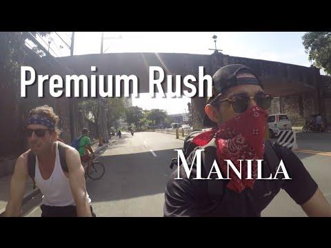 Premium Rush Manila (American Daredevil Bicycle Riders of the Philippines)