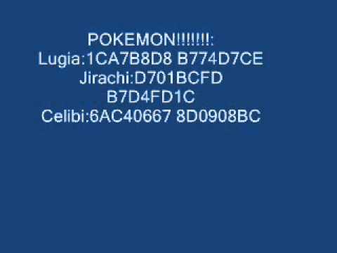 Pokemon emerald My Boy cheats pokedex