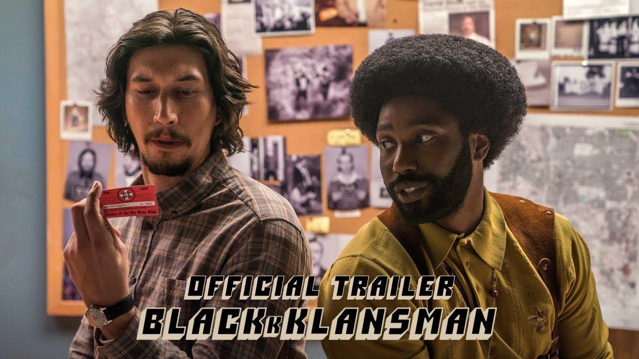 Trailer de BlacKkKlansman