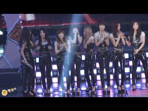 [Fancam SNSD] Disk Daesang: And the winner is ... Super Junior @ Golden Disk Awards 2009